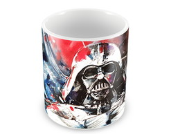 Caneca Darth Vader colors