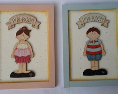 Placas decorativas