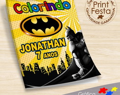 Revistinha de colorir BATMAN