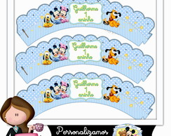 Wrappers para cupcake disney baby