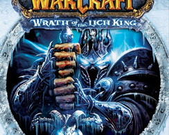 Poster World Of Warcraft Lich King Tamanho 90x60