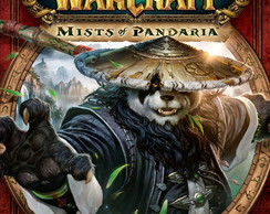 Poster World Of Warcraft Mists Of Pandaria Tamanho 90x60 cm