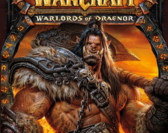 Poster World Of Warcraft Warlords Tamanho 90x60 cm