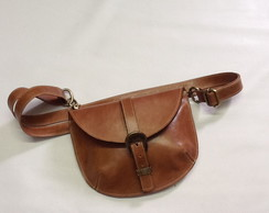 Belt bag / pochete caramelo