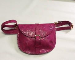Cartucheira,Belt bag ou pochete pink