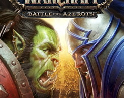 Poster World Of Warcraft Battle For Azeroth Tamanho 90x60 cm