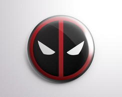 Bottons Deadpool - Button Boton