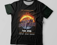 Camiseta Black Sabbath Fogo