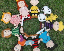 Turma do Snoopy - Combo - Molde Digital