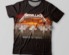 Camiseta Metallica – Master of Puppets
