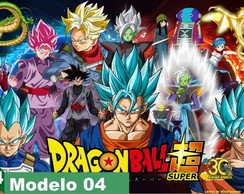 Painel Lona Aniversario Dragon Ball Super