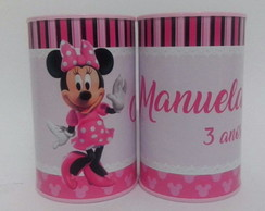 Cofrinho Personalizado - Mickey e Minnie