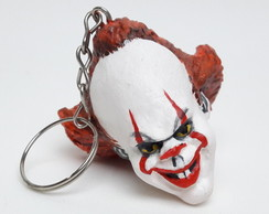 Chaveiro Pennywise - It a coisa - em Resina