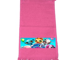 Kit 30 Toalhinhas Rosa Littlest Pet Shop