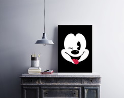 "Placa decorativa MDF ""Mickey"""