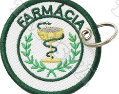 Chaveiro Patch Bordado - Farmácia AP00012