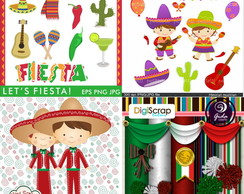 Kits Digitais - Festa Mexicana / México