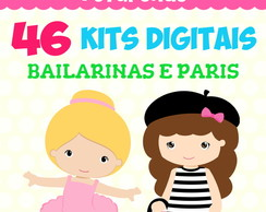 Kit Digital - Bailarinas e Paris
