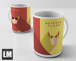 Caneca The Flash - Flash + Flash Reverso
