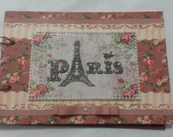 CADERNO DECORADO PARIS - PRONTA ENTREGA