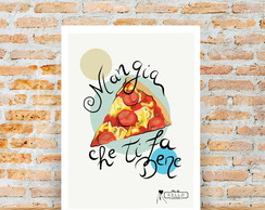 Poster A4 - Pizza