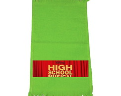 Kit 30 Toalhinhas Verde High School Musical