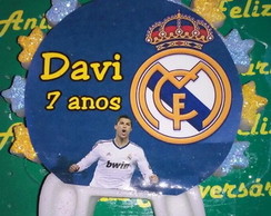 Vela Real Madrid personalizada