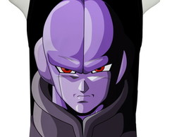 Camiseta Dragon Ball Super Hit Face - Regata