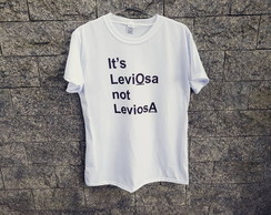 Camiseta Frase Harry potter - It's leviosa