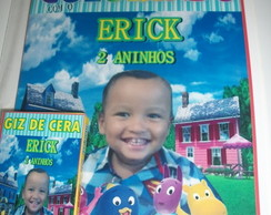 kit para colorir backyardigans