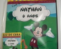 Kit p colorir Mickey e minnie