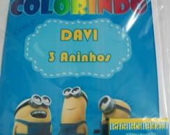 Kit p colorir Minions