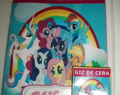 kit para colorir My little Pony