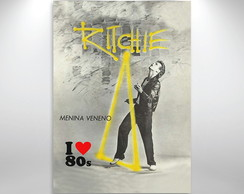 Placa Decorativa Amo 80s Ritchie