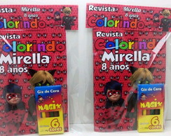 Revista colorir miraculous