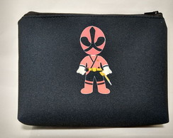 Bolsinha necessaire Power Ranger Cute