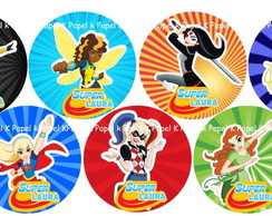 Rotulo mint to be DC SUPER HERO GIRLS