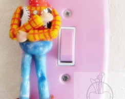 Interruptor,apagador decorado Woody Toy Story