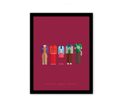 Quadro Decorativo - The Big Bang Theory - By Urban Arts