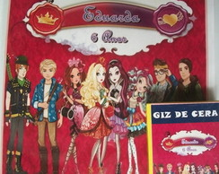 kit para colorir Ever after high