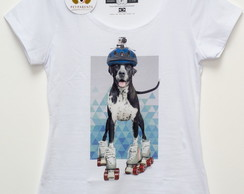 Camiseta DOG ALEMAO Patins