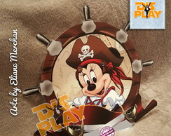 Placa Minnie Pirata