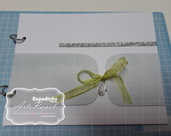 SCRAPBOOK - Mini Album Scrapbook - Pronta entrega