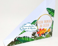 Porta guardanapo - Festa tropical