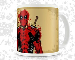 Caneca Marvel Deadpool LO005