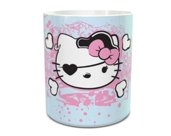 Caneca Hello Kitty Pirata