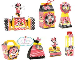 kit festa personalizada da Minnie