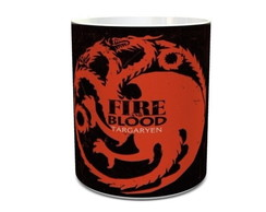 Caneca Game Of Thrones House Targaryen