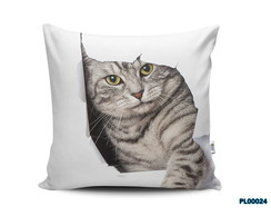 Almofada 40x40 Gato Cat Pet Love