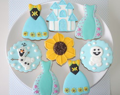 Biscoitos Decorados Frozen Fever